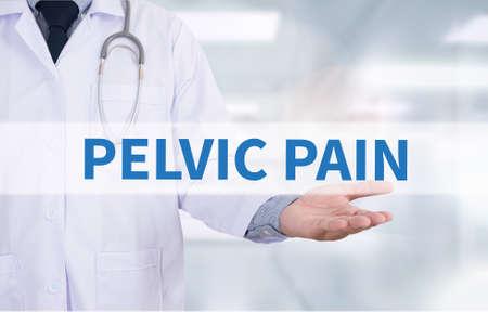 pelvic: PELVIC PAIN Medicine doctor hand working