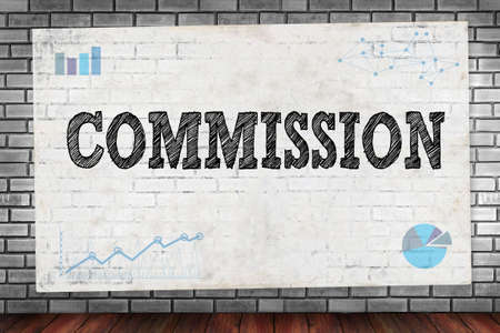 COMMISSION on brick wall and poster concept