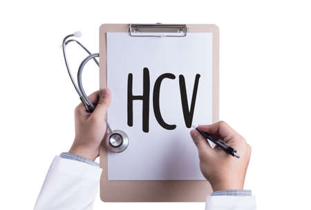HCV  Medical Diagnosis  HCV  Hepatitis C Virus.