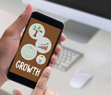 growth: Growth Life Preservation Protection Growth Project About Business Growth Stock Photo