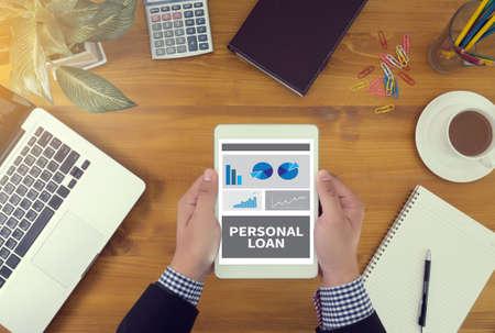 préstamo, personal, finanzas, negocios, hipoteca, financiero, dinero, banca, deuda, presupuesto, préstamos, ahorros, fondo, el concepto, el éxito, el crecimiento, tablero, el banco, la inversión, la economía, la estrategia, el crédito, en línea, bar, bloc de notas, pensar, la búsqueda, la gente, café, informan