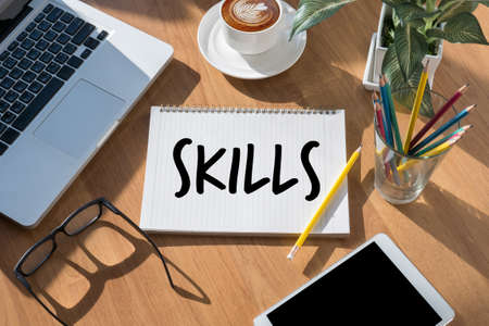 SKILLS Artist Creative Graphic Skills Designer Illustrator Level - Business and Education