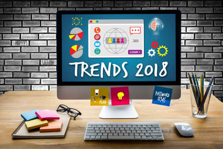 TRENDS 2018 new year business innovation technology