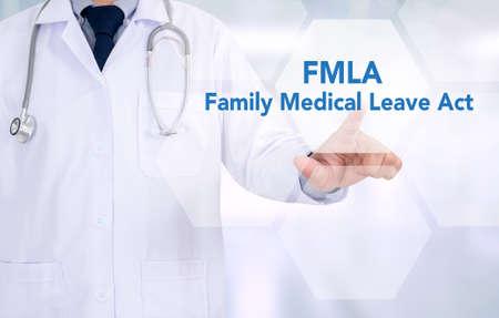 famille FMLA acte de congé de maladie, FMLA Banque d'images
