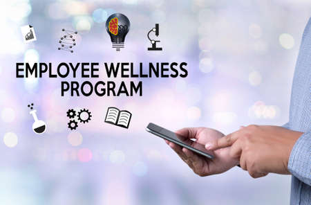 Employee Wellness program and Managing Employee Health , employee wellness concept
