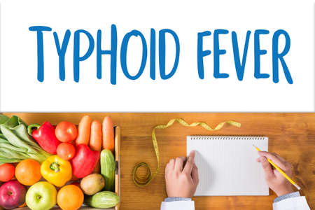 typhus: TYPHOID FEVER Medical Concept , Typhoid positive , Composition of Medicaments Stop Typhoid  ,
