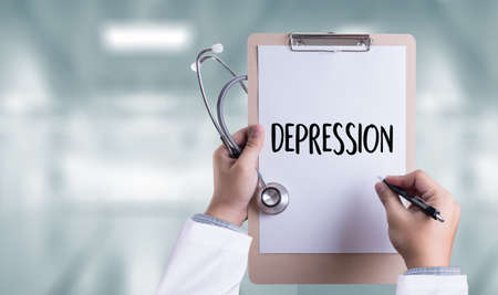 major depression: DEPRESSION  miserable depressed , Depression and its consequences, Depressed emotions concept ,  alone in depression