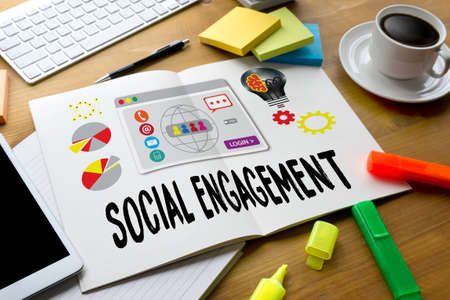 participatory: SOCIAL ENGAGEMENT  Analytics and data science of social networks , social media audience SOCIAL ENGAGEMENT , Interact  Social Media Social Networking Communicate SOCIAL ENGAGEMENT  Connect
