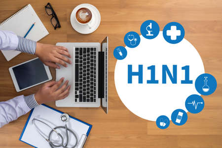 h1n1: H1N1 ,   Influenza virus positive H1N1 ,  H1N1. Medical Report  , H1N1 Vaccine  , Medical Doctor H1N1