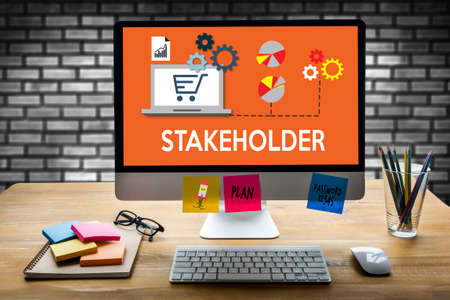 STAKEHOLDER , stakeholder engagement concept  , stakeholders, strategy mind map, business  , Partner Deal  Stakeholder Contributor Shareholder , Business management Shareholder
