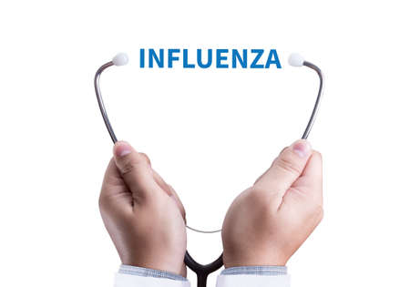 morbidity: INFLUENZA headache because of influenza virus , Medical Concept , Diagnosis - Influenza Vaccination , Influenza A virus (H1N1)