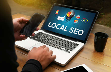 LOCAL SEO Stock Photo