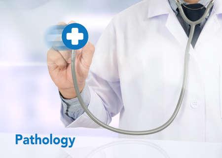 pathogenesis: Pathology  diagnosis in pathology laboratory , Disease thinking