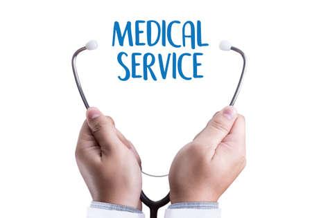 MEDICAL SERVICE  Healthcare  modern medical  Doctor concept ,