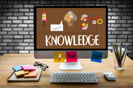 Distance learning online webpage KNOWLEDGE work