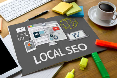 LOCAL SEO Stock fotó