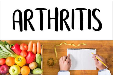 ARTHRITIS medical examination medicine, health and hospital Stock Photo