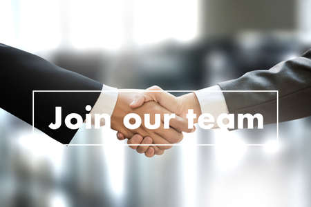 JOIN OUR TEAM  Businessman working at office