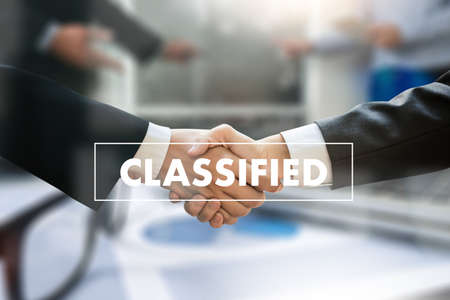 Approved Accepted CLASSIFIED Business people