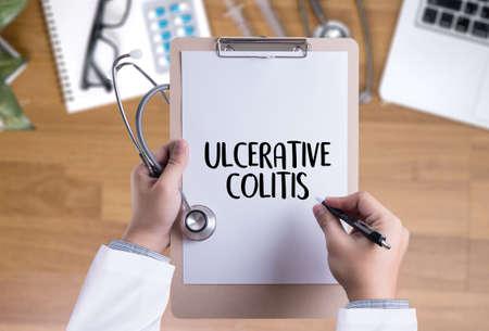 ULCERATIVE COLITIS Healthcare modern medical Doctor concept