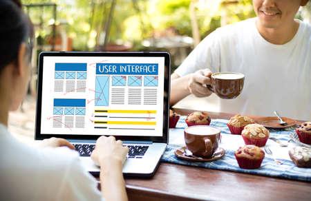 USER INTERFACE Global Address Browser Internet Website Design Software Media WWW  Domain HTML Innovation Technology Homepage