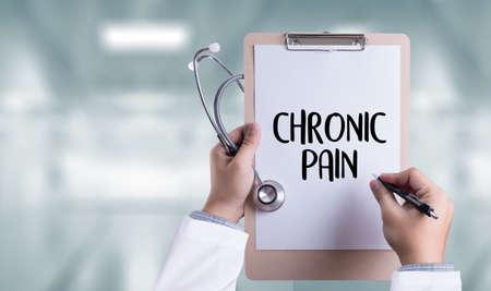 CHRONIC PAIN  Healthcare modern medical Doctor concept