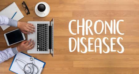 CHRONIC DISEASES Healthcare modern medical Doctor concept Stock Photo