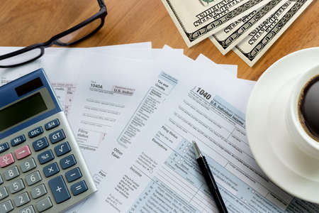 exemption: tax Individual income return Financial Accounting form Time for Taxes Money Taxation