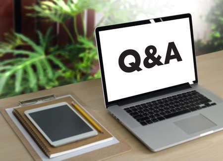 Q & A (Fragen und Antworten) Business Team
