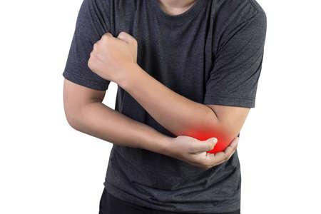man elbow pain Arm  bones injury