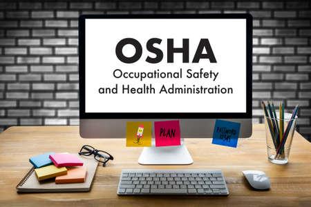 Beroepsveiligheid en Gezondheidsbeheer OSHA Business team werk