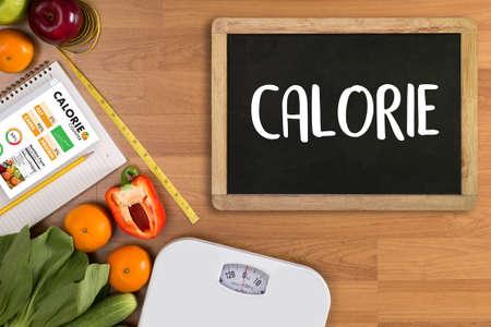 CALORIE contador contador aplicación Médico comer sano Dieta concepto