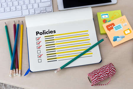 internet search: Policies  Privacy Policy settings Information Principle Strategy Rules Stock Photo