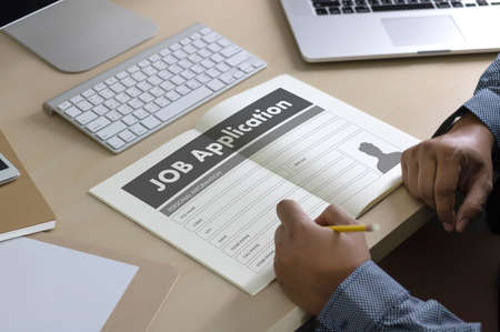 single word: JOB Application Applicant Filling Up the Online  Profession Apply Hiring
