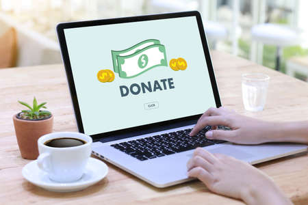 DONATE NOW Give Help Donation Support Provide health care Фото со стока