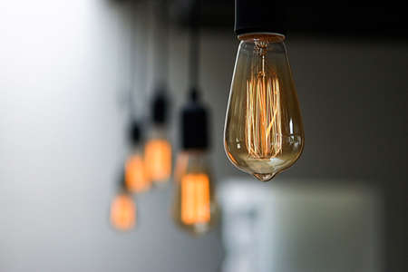 Lighting decor and style light bulbs vintage