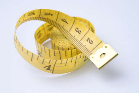 Measure tape for Checking Waistline Tailoring Meter to Healthy 版權商用圖片