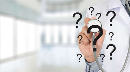 question mark confusion in Training Meeting  question concept