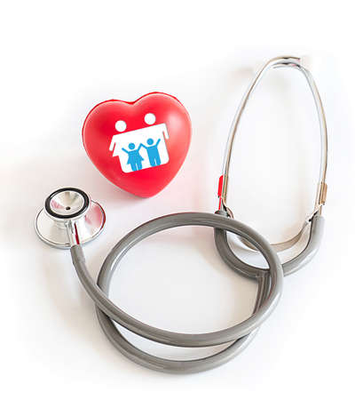 Red heart  Medical Equipment Healthcare Health Insurance