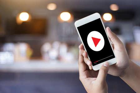 VIDEO MARKETING Audio Video  ,  market Interactive channels , Business Media Technology innovation Marketing technology concept