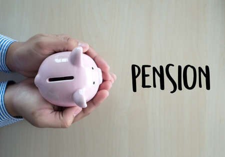 Positive  pension Happiness money saving for Retirement financial