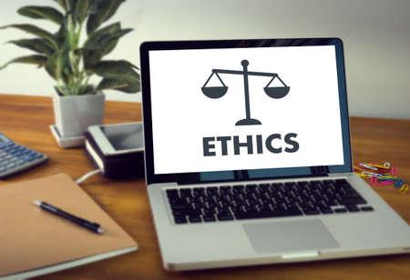 Travail d'équipe et éthique en équipe Justice Law Order Legal