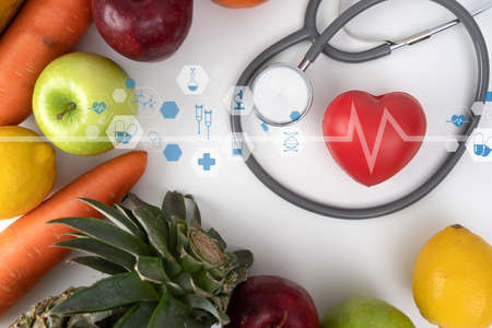 Health care and medical technology medical doctor working