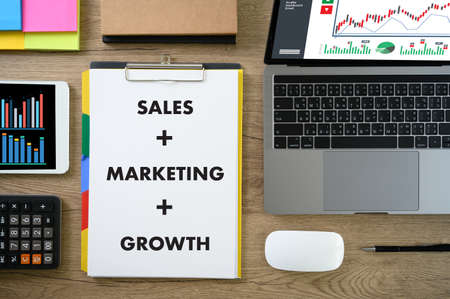 SALES MARKETING, Customer Marketing Sales Dashboard Graphics and Business Marketing Team Discussion Corporate