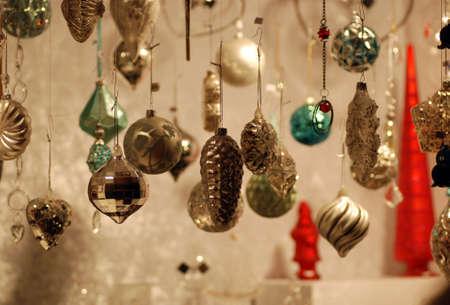 Wares for sale at the Edinburgh Christmas market Stock Photo - 14192917