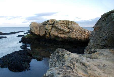 Rock in the Sea Stok Fotoğraf