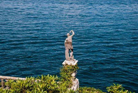 Statue near the sea