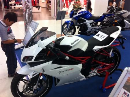 superbike: Naza superbike Expo Stock Photo