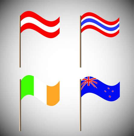 flag Stock Vector - 15705906