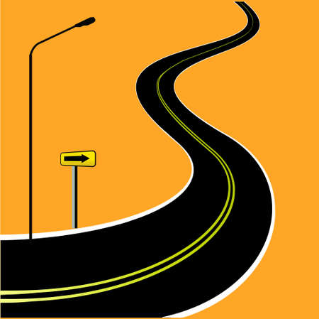 Road Stock Vector - 16105881
